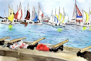 racing in cowes